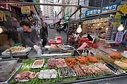 Namdaemun Market. Food stalls.