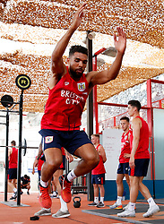 Scott Golbourne of Bristol City works out in the gym - Mandatory by-line: Matt McNulty/JMP - 20/07/2017 - FOOTBALL - Tenerife Top Training Centre - Costa Adeje, Tenerife - Pre-Season Training