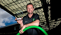 06/05/15     <br /> CELTIC PARK - GLASGOW <br /> All smiles for Celtic Manager Ronny Deila he collects the Scottish Premiership Manager of the Month Award for April.<br /> *This image is strictly embargoed for use until 12:30pm on Friday 08/05/15*