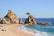 Tossa de Mar, Costa Brava, Spain