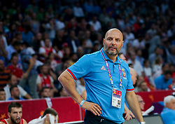 Sasha Aleksandar Djordjevic, head coach of Serbia during the Final basketball match between National Teams  Slovenia and Serbia at Day 18 of the FIBA EuroBasket 2017 at Sinan Erdem Dome in Istanbul, Turkey on September 17, 2017. Photo by Vid Ponikvar / Sportida