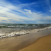 """""""Lake Michigan"""" 1<br /> <br /> Scenic shores of Lake Michigan in the Upper Peninsula of Michigan!!<br /> <br /> The Great Lakes by Rachel Cohen"""