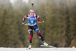 Eva Puskarcikova (CZE) during Women 15km Individual at day 5 of IBU Biathlon World Cup 2018/19 Pokljuka, on December 6, 2018 in Rudno polje, Pokljuka, Pokljuka, Slovenia. Photo by Ziga Zupan / Sportida