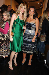 Left to right, MEREDITH OSTROM and ELLA KRASNER at the opening of an exhibition of paintings and watercolours by Raoul Dufy held at the Opera Gallery, 134 New Bond Street, London W1 on 6th February 2006.<br /><br />NON EXCLUSIVE - WORLD RIGHTS