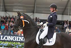 Nijvelt Karen, NED, Elysias<br /> World Championship Young Dressage Horses <br /> Ermelo 2016<br /> © Hippo Foto - Leanjo De Koster<br /> 29/07/16