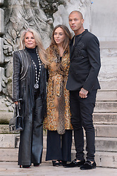 Tina Green, Chloe Green, Jeremy Meeks attending the Ralph And Russo show during Paris Fashion Week Haute Couture Spring Summer 2018 on January 22, 2018. Photo by Julien Reynaud/APS-Medias/ABACAPRESS.COM