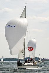 , Travemünder Woche 19. - 28.07.2019, ORC III - GER 438 - NORDEN - X-99 - Jochen HEUER - Segler-Verein Niendorf_ Ostsee e. V