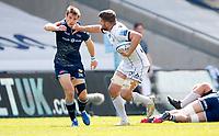 Caption Template Rugby Union - 2020 / 2021 Gallagher Premiership - Round 16 - Sale Sharks vs Gloucester - AJ Bell Stadium<br /> <br /> Ed Slater of Gloucester Rugby and Sam James of Sale Sharks  <br /> <br /> Credit COLORSPORT/LYNNE CAMERON