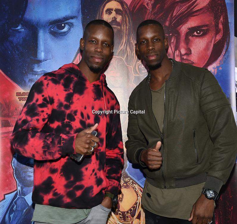Twin MC's/ So Solid Crew - Dwayne & Noel arrives at Tresor Paris In2ruders - launch at Tresor Paris, 7 Greville Street, Hatton Garden, London, UK 13th September 2018.