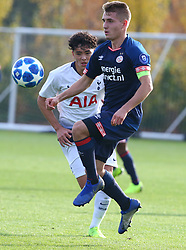 November 6, 2018 - London, England, United Kingdom - Enfield, UK. 06 November, 2018.Michal Sadilek of PSV Eindhoven.during UEFA Youth League match between Tottenham Hotspur and PSV Eindhoven at Hotspur Way, Enfield. (Credit Image: © Action Foto Sport/NurPhoto via ZUMA Press)