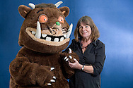 English writer and playwright Julia Donaldson, pictured at the Edinburgh International Book Festival where she talked about her most famous creation, the Gruffalo. The three-week event is the world's biggest literary festival and is held during the annual Edinburgh Festival. The 2010 event featured talks and presentations by more than 500 authors from around the world.