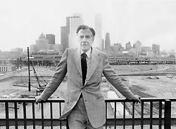 Jun 10, 1976 - Toronto, ON, Canada - JOHN KENNETH GALBRAITH.   (Credit Image: © Dick Darrell/Toronto Star/ZUMA Press)