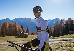 """02.11.2015, Zettelfeld, Thurn, AUT, Dreharbeiten zur ORF-Sendung """"Sport am Sonntag"""", drei Radsport-Weltmeister aus Tirol, im Bild Felix Gall (UCI Strassenrad Juniorenweltmeister) // during Shooting of ORF broadcast """"Sport am Sonntag"""", three cycling World Champion from Tyrol at Zettersfeld in Lienz, Austria on 2015/11/02. EXPA Pictures © 2015, PhotoCredit: EXPA/ Johann Groder<br /> <br /> ***** ACHTUNG REDAKTEURE - Bei Veröffentlichung vor dem geplanten Sendetermin am 6. November 2015, ist die Nennung """"Dreharbeiten zur ORF-Sendung Sport am Sonntag"""" in der Bildunterschrift/Credit verpflichtend *****"""