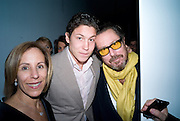 BONNIE CLEARWATER; VITO SCHNABEL; JULIAN SCHNABEL, Anri Sala hosted by Moca and Vanity Fair International.  Museum of Contemporary art. 770 N. 125 St. North Miami.  ART BASEL MIAMI BEACH.  *** Local Caption *** -DO NOT ARCHIVE-© Copyright Photograph by Dafydd Jones. 248 Clapham Rd. London SW9 0PZ. Tel 0207 820 0771. www.dafjones.com.