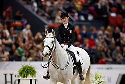 Olesen Mai Tofte, DEN, Rustique<br /> Gothenburg Horse Show FEI World Cups 2017<br /> © Hippo Foto - Stefan Lafrentz<br /> 24/02/17