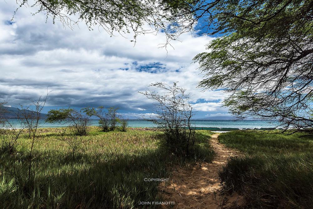 Kealia Pond National Wildlife Refuge, Maui, Hawaii