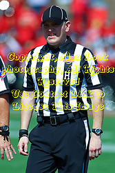 17 September 2016:  LINESMAN<br /> Sergio DeHoyos NCAA FCS Football game between Eastern Illinois Panthers and Illinois State Redbirds for the 105th Mid-America Classic on Family Dat at Hancock Stadium in Normal IL (Photo by Alan Look)