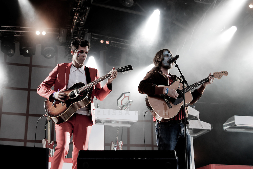 Mark Ronson performs at Camp Bestival on 30th July, Lulworth UK.