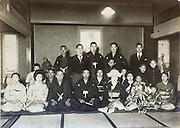 wedding celebration Japan early 1930s