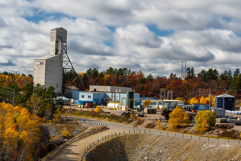 Onaping Area Mines/Mill Tailings Management System- Fraser Mine, Greater Sudbury- Onaping, Ontario, Canada