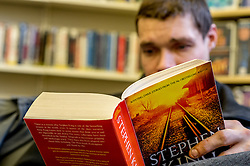 Mark receives no benefits and has spent over 6 month homeless. He is an avid reader spending many hours in a local library