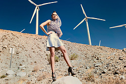Fashion Editorial Out Of This World with Model Morgan Chmielowiec.<br /> Stylist Jennifer O'Bannon<br /> Makeup: Whitney Gregory<br /> Hair: Lucy Gedjeyan<br /> Photographed in Palm Springs California<br /> Copyright Amyn Nasser. All Rights Reserved.