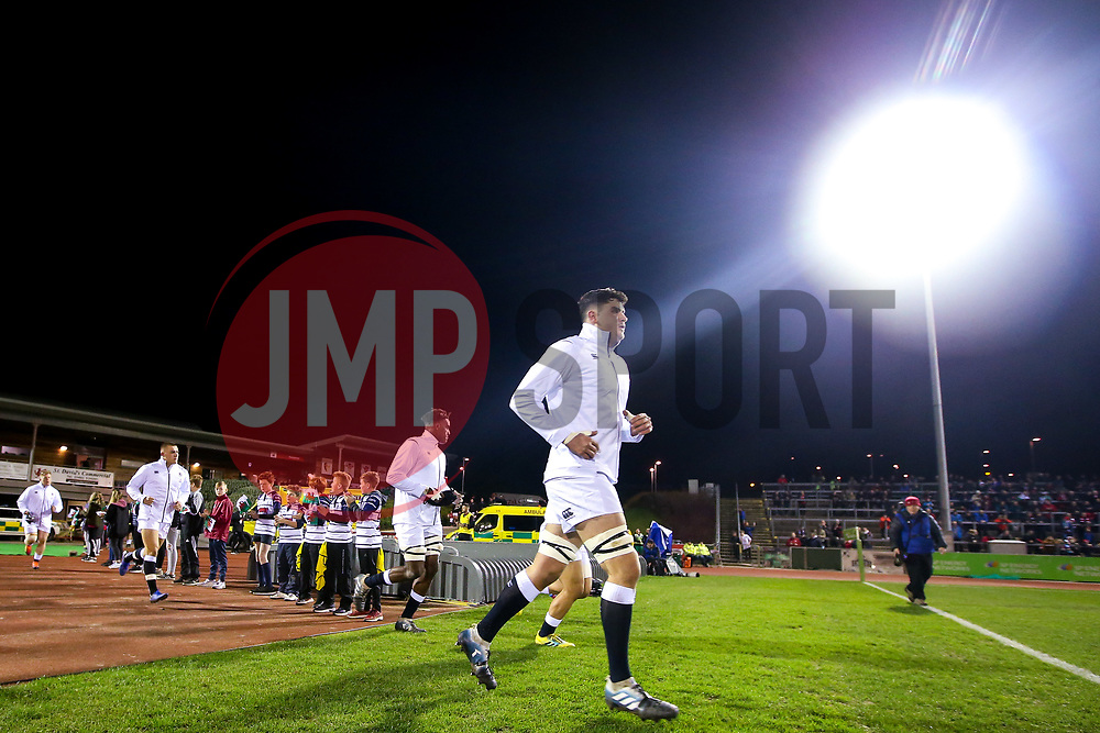 England U20 run out to face Wales U20 - Mandatory by-line: Robbie Stephenson/JMP - 22/02/2019 - RUGBY - Zip World Stadium - Colwyn Bay, Wales - Wales U20 v England U20 - Under-20 Six Nations