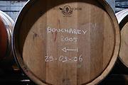barrel marked boucharey 2005 domaine bonserine ampuis rhone france