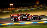 Qualifying Lucas Di Grassi (BRA) / Loic Duval (FRA) / Oliver Jarvis (GBR) driving the LMP1 Audi Sport Team Joest Audi R18 Hybrid 24hr Le Mans 15th June 2016