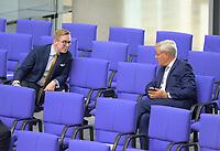 DEU, Deutschland, Germany, Berlin, 11.09.2020: Philipp Amthor (CDU) und Dr. Norbert Röttgen (CDU) bei einer Plenarsitzung im Deutschen Bundestag.