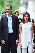 051718 Spanish Royals attends the Final of the scientific monologue contest 'FameLab Spain 2018'