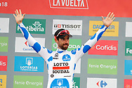 Thomas De Gendt (BEL - Lotto Soudal) during the 73th Edition of the 2018 Tour of Spain, Vuelta Espana 2018, 20th stage Andorra Escaldes Engordany - Coll de la Gallina 97.3 km on September 15, 2018 in Spain - Photo Luca Bettini / BettiniPhoto / ProSportsImages / DPPI