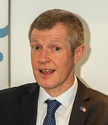 Pictured: <br /> Scottish Liberal  Party leader Willie Rennie delivered an address to Reform Scotland. This is the third event, organised by Shepherd and Wedderburn, in the think tank's series of speeches on the Scottish Government's tax and spending plans.<br /> <br /> Ger Harley | EEm 28 February 2017