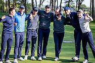 11-05-2019 Foto's NGF competitie hoofdklasse poule H1, gespeeld op Drentse Golfclub De Gelpenberg in Aalden. Houtrak 1 blij dat ze door zijn naar de kruisfinales