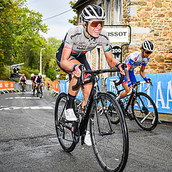 VOLLERING Demi ( NED ) – PARKHOTEL VALKENBURG ( PHV ) - NED – Querformat - quer - horizontal - Landscape - Event/Veranstaltung: Flèche Wallonne - Category/Kategorie: Cycling - Road Cycling - Elite Women - Elite Men - Location/Ort: Europe – Belgium - Wallonie - Huy - Start & Finish: Huy - Discipline: Road Cycling - Distance: 202 km - Mens Race - 124 km - Womens Race - Date/Datum: 30.09.2020 – Wednesday - Photographer: © Arne Mill - frontalvision.com30-09-2020: wielrennen: Fleche Walonne; Huy