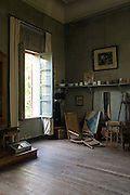 View of Paul Cezanne's atelier in his house of Aix-en-Provence