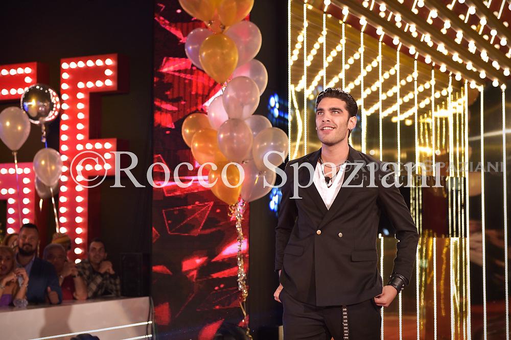 Stefano Sala concorrente della terza edizione del Grande Fratello Vip 24 , Settembre 2018 Roma