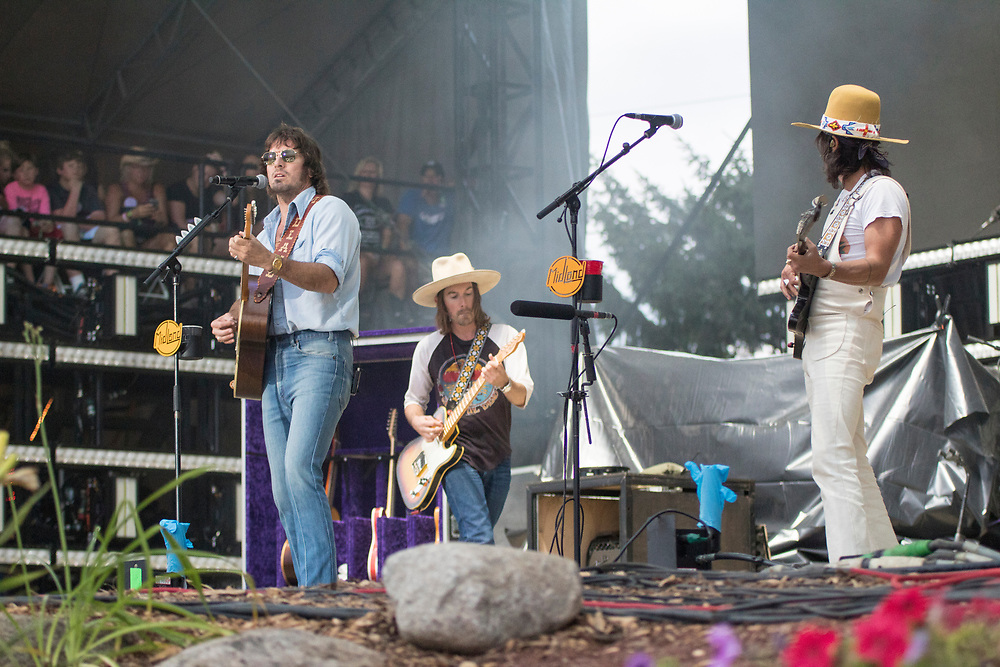 Midland performs at Country Thunder in Twin Lakes, WI on July 19, 2018.
