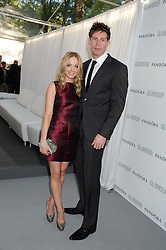 JOANNE FROGGATT and JAMES CANNON at the Glamour Women of the Year Awards in association with Pandora held in Berkeley Square Gardens, London on 4th June 2013.