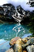 Moraine Lake & Reflections - Banff N.P., Alberta