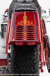 Donnie Smith's Headhunter, a Harley-Davidson 84 ci Shovelhead. Photographed by Michael Lichter in Sturgis, SD. August 2, 2020. ©2020 Michael Lichter