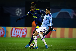 Jaques François Moubandje of Dinamo Zagreb and Kyle Walker of Manchester City6 during football match between GNK Dinamo Zagreb and Manchester City in 6th Round of UEFA Champions league 2019/20, on December 11, 2019 in Maksimir, Zagreb, Croatia. Photo by Blaž Weindorfer / Sportida
