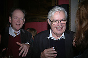 Alexander Chancellor. The Literary Review's Bad Sex Awards. annual ceremony for authors who write about sex in a 'redundant, perfunctory, unconvincing and embarrassing way. In and Out Club. London.  1 December  2005. ONE TIME USE ONLY - DO NOT ARCHIVE  © Copyright Photograph by Dafydd Jones 66 Stockwell Park Rd. London SW9 0DA Tel 020 7733 0108 www.dafjones.com
