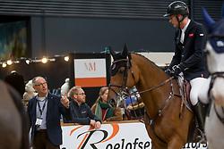Houtzager Marc, NED, Sterrehofs Calimero<br /> Indoor Brabant 2018<br /> © Sharon Vandeput<br /> 11/03/18