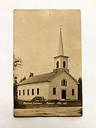 Courtesy of the Southwest Harbor Historical Society. <br /> <br /> Manset Union Church, Manset, Maine.