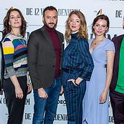 NLD/Hilversum/20180309 - Cast presentatie 'De 12 van Oldenheim', Cast
