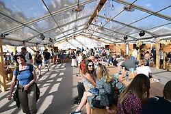Latitude Festival, Henham Park, Suffolk, UK July 2018. The Danish Quarter, Carlsberg bar