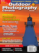 PRODUCT: Magazine Cover<br /> TITLE: <br /> CLIENT: Outdoor Photography Canada