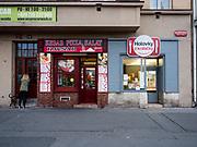 """Shops close to """"Ohrada"""" in Prague, Žižkov."""