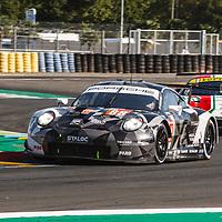 #88, Porsche 911 RSR, Dempsey-Proton Racing, drivers: Dominique Bastien, Adrien De Leener, Thomas Prening, LM GTE Am, at the Le Mans 24H, 2020